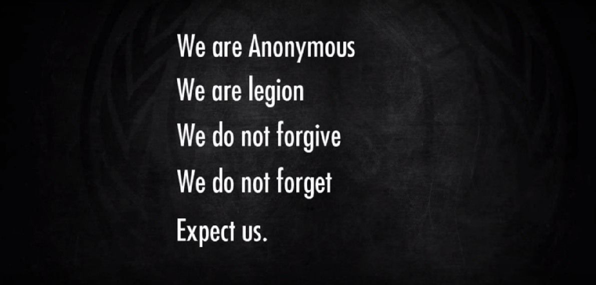 Anonymous Hackers Group Declares War On ISIS After Paris Attacks